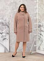 Пальто женское кашемировое -Л-616 беж
