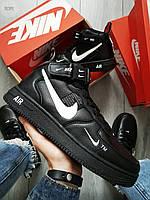 Чоловічі кросівки Air Force Hight 19 Black, фото 1