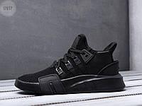 Чоловічі кросівки Adidas EQT Basketball ADV Total black, фото 1