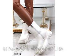 Ботинки с резинками демисезонные