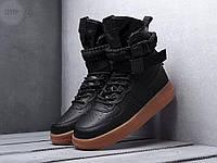 Чоловічі кросівки Air Force Hight Black LUX, фото 1
