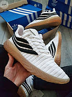 Чоловічі кросівки Adіdas Sobakov White/Black, фото 1