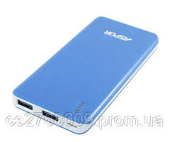 "PowerBank ""Aspor"" A353 6000 mah (1A+2.1A) (blue)"