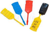 Бирки для ключів пластикові
