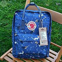 Рюкзак шведської марки Kanken Fjall Raven 16L Blue Fable, фото 1