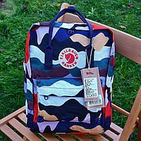 Рюкзак шведської марки Kanken Fjall Raven 16L Summer View, фото 1