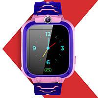 Детские умные часы с GPS JETIX DF22 WiFi Edition влагозащищенные с прослушкой и камерой (Pink)