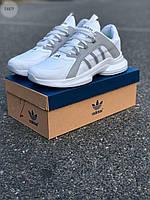 Чоловічі кросівки Adidas White, фото 1