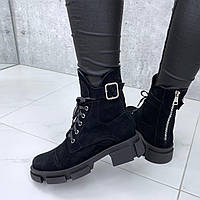 Замшевые весенние ботинки, фото 1