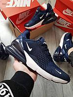 Чоловічі кросівки Nike Air Max 270 Blue, фото 1