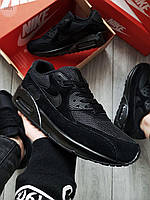 Чоловічі кросівки Nike Air Max 90 Black, фото 1