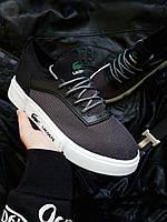 Чоловіча фірмове взуття Lacoste Grey/White, фото 1