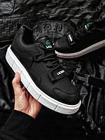Чоловіча фірмове взуття Lacoste Black/White, фото 1