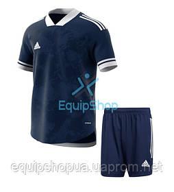Футбольная форма Adidas  CONDIVO 20 темно синяя
