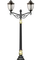 Опора декоративная на два светильника