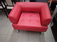 Офисное кресло для офиса Стронг (MebliSTRONG) - красный матовый цвет