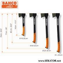 Сокира-колун з композитним руків'ям Bahco / Бако SUC-1.0-710, фото 2