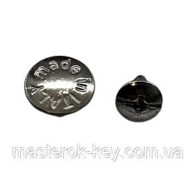 Гвинт ремінною 65-214 темний колір-нікель
