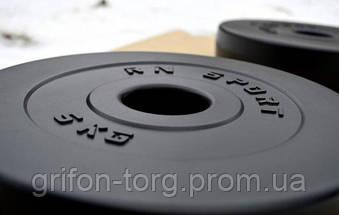 67 кг (2х1.25, 2х2.5, 2x5, 2х10 и 2x15) дисков, покрытых пластиком (31 мм), фото 2