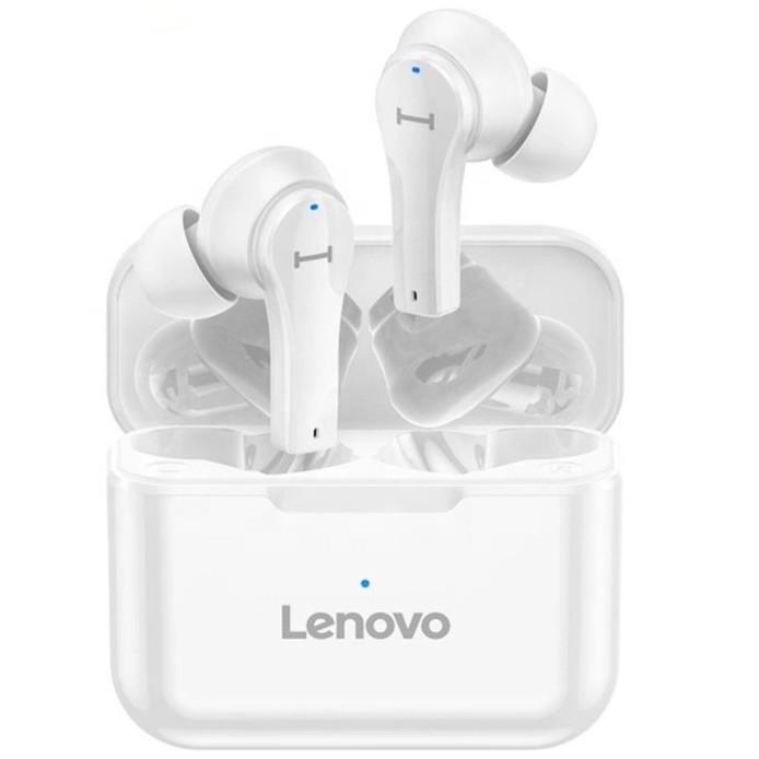 Бездротові Навушники Lenovo QT82 TWS Bluetooth White