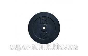Набор блинов 125 кг (2х2.5, 2х5, 4х10, 2х15, 2х20), фото 2