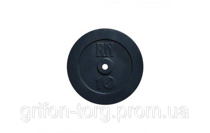 Набор блинов 40 кг (4x10) на гриф 25,30.50 мм, фото 2