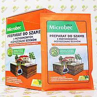 Microbec Засіб для септиків і вигрібних ям, 25г (цитрус)