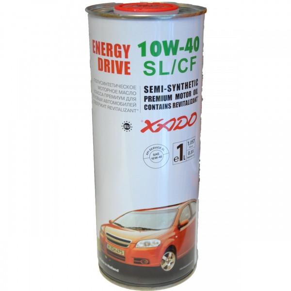 Масло моторное XADO Atomic Oil 10W40 SL CF 1л