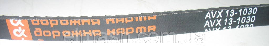 Ремень генератора AVX13х1030 зубчатый ГАЗЕЛЬ <ДК>