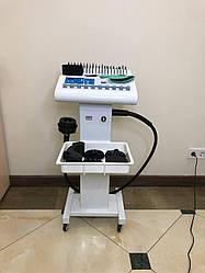 Апарат 2 в 1 вібромасажу стаціонарний з 5 насадками і міостимуляцією