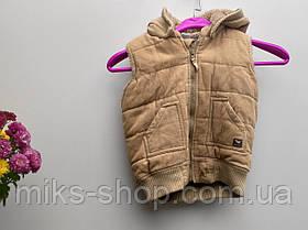 Зимова дитяча жилетка на хутрі Розмір 86 ( 118-х), фото 3