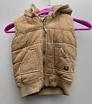 Зимова дитяча жилетка на хутрі Розмір 86 ( 118-х), фото 2