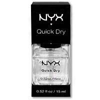 БЕСПЛАТНО ПРИ ЗАКАЗЕ ОТ 700 грн! Быстросохнущее покрытие для лака NYX Salon Formula Quick Dry