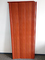Двери гармошка глухая ольха красная 266, 810х2030х6мм