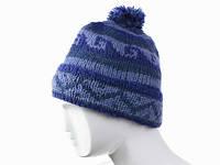 Зимняя шапка с помпоном Ручная вязка в ассортименте