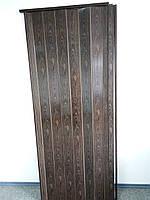Двери гармошка глухая  7103 орех 1000*2030*6 мм