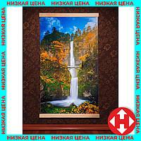 Картина обогреватель (водопад с мостиком) настенный электрообогреватель Трио 00119 +