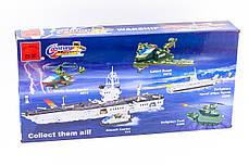 """Конструктор """"Военный корабль"""" 970 деталей Brick-112, фото 3"""