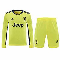 Футбольная форма с длинным рукавом Ювентус/Juventus ( Италия, Серия А ), вратарская, сезон 2020-2021, фото 1