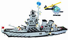 """Конструктор """"Военный корабль"""" 970 деталей Brick-112, фото 2"""