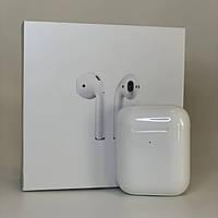 Бездротові Bluetooth-навушники для Apple iPhone - AirPods 2 люкс копія з шумоподавленим, навушники для айфона