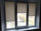 Рулонні штори Залишившись. Тканинні ролети Люмінис 81.5, Сірий 920, фото 2