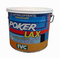 Краска акриловая матовая эмалевая Poker Lax Opaco Converter (база прозрачная) (IVC) 12,8 кг