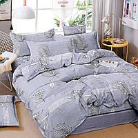 Комплект двуспального постельного белья бязь с растениями