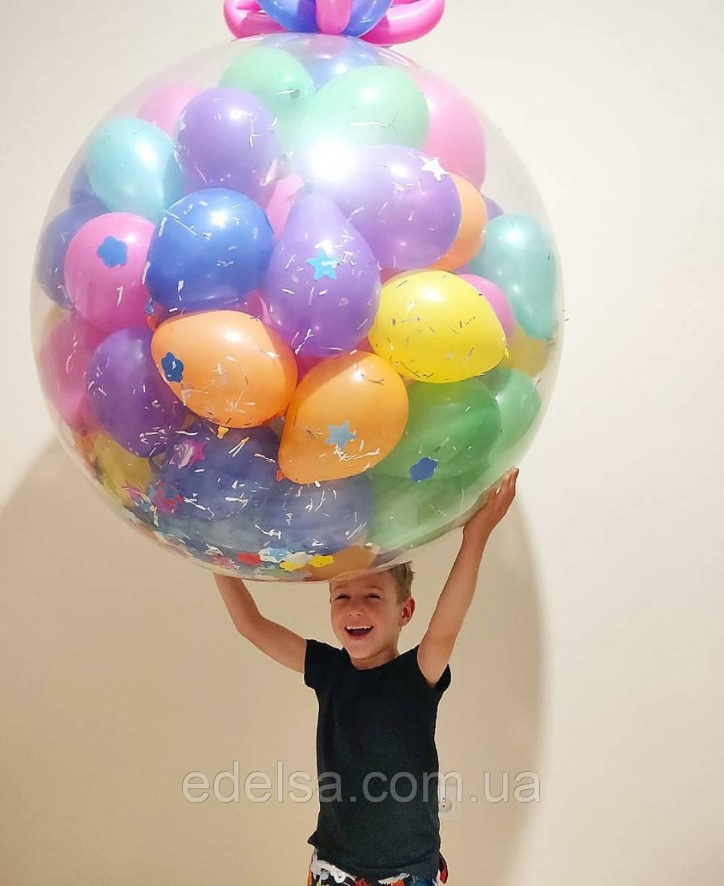 Огромный шар-сюрприз