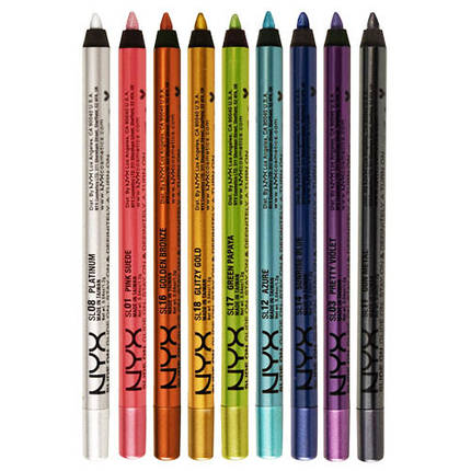 Гелевый карандаш для глаз NYX Slide On Pencil, фото 2