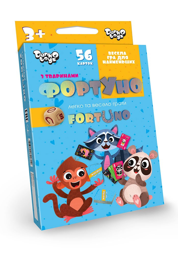 «Фортуно-Fortuno» Dino 56 карт