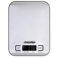 Весы кухонные Mesko MS 3169 на 5 кг, черные