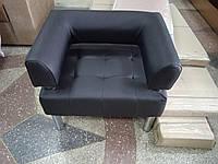 Офисное кресло для офиса Стронг (MebliSTRONG) - черный матовый цвет
