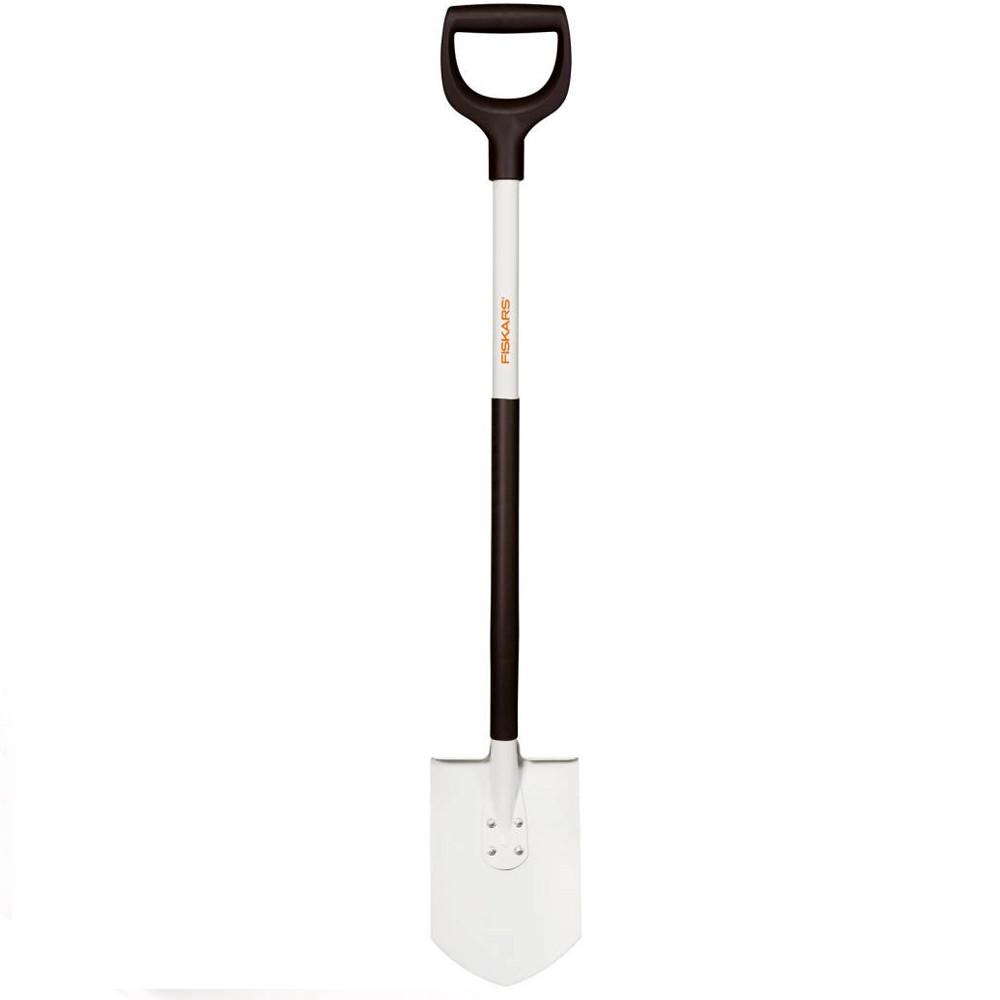 Полегшена штикова лопата Fiskars / Фіскарс White 1019605